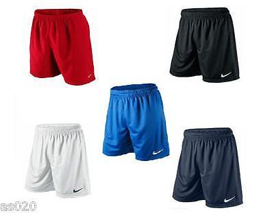Nike Park Dri Fit Kids Junior Sports Football Shorts - Blue Black Red Navy White