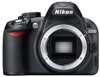 Nikon D3100 14.1 megapixels DSLR - body only