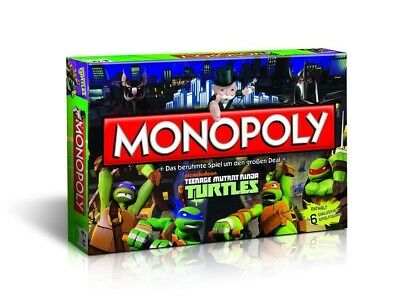 Teenage Mutant Ninja Turtles-spiel (Original Monopoly - Teenage Mutant Ninja Turtles Spiel Brettspiel NEU & OVP)