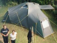 Outwell base dome plus six person tent