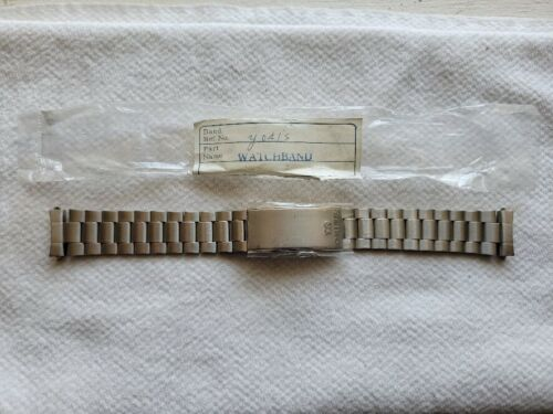 Selling a New Old Stock Vintage Seiko stainless steel WW Band (Y041S) 18 MM