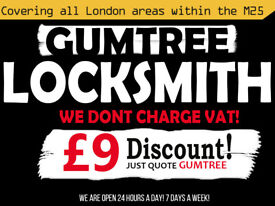 Locks From £19   No VAT Charges   Best Prices   Best Rated   Quick Locksmith Services