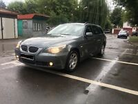 LEFT HAND DRIVE BMW 525d estate 2007 year