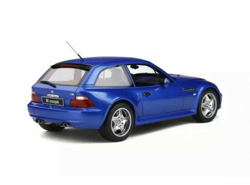New 1/18 Otto BMW Z3 M Coupe Estoril Blue