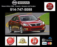 Nissan Altima – Fenders and Bumpers • Ailes et Pare-chocs