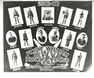 1921-22 Fort William Hockey Club Picture