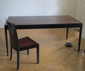 Dinning table with 3 chairs ( optional )
