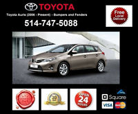 Toyota Auris ► Ailes et Pare-chocs • Fenders and Bumpers