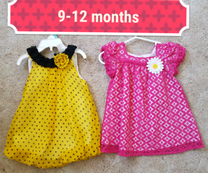 9-12 months Girl $12 For Both