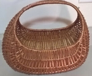 Vintage Wicker Banana Basket