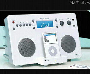 Tivoli Audio® iYiYi® high-fidelity stereo system for iPod