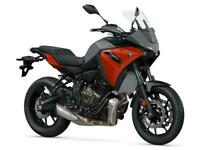 YAMAHA TRACER 700 NEW UNREGISTERED BLACK MOTORCYCLE 689CC