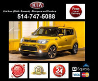 Kia Soul – Fenders and Bumpers • Ailes et Pare-chocs