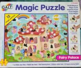 Magic fairy house puzzle