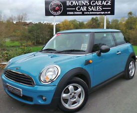 2009 (59) MINI ONE 1.4 3DR - 1 LOCAL OWNER - FULL S/HISTORY - STUNNING COLOUR