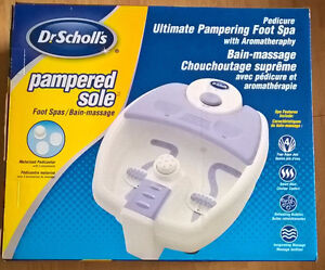 Dr. Scholl's Pampered Sole Foot Spa