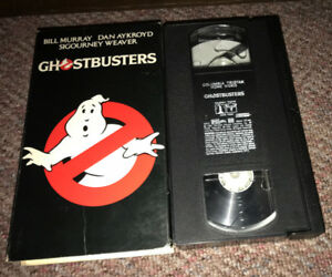 Ghostbusters VHS Movie 1984/1994 Cult 80's comedy