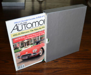 Collectible Automobile magazines - the whole set from 1992