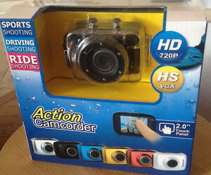 action camcorder hd 720p brand new in box like GoPro