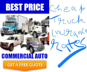 Save on your truck insurance
