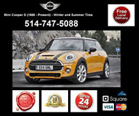 Mini Cooper S – Winter and Summer Tires • Pneus D'Hiver et Ete
