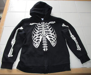Boys skeleton hoody from Old Navy size Lg (10/12)*barely worn