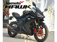 LEXMOTO HAWK 125 EFI - SPORTS MOTORCYCLE - LEANER LEGAL