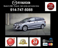 Mazda 5 - Control Arms and Ball Joints • Bras Suspension
