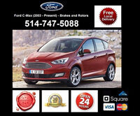 Ford C-Max - Brakes and Rotors • Freins et Disques
