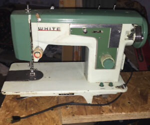 WHITE ZigZag SEWING Machine $50 Or Best Offer