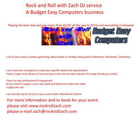Rock and Roll with Zach DJ Service