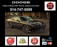 Dodge Challenger - Fenders and Bumpers • Ailes et Pare-chocs