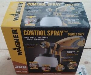 Wagner Double Duty Paint Sprayer - NEW