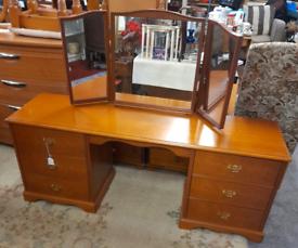 Vintage Stag Minstrel Dressing Table/ Desk