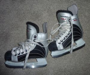 Hockey skates, toddler size 8 and 10, $ 15 per pair