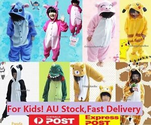 Kids-Children-Boy-Girl-Animal-Cosplay-Hoodie-Costume-Kigurumi-Pajamas-Sleepwear