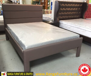 BED FRAME & MATTRESS FACTORY SALE! ** MADE IN CANADA**