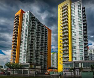 Underground Parking - University City -  Orange Building