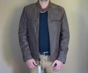 Brand New Never Worn Men's Leather Jacket