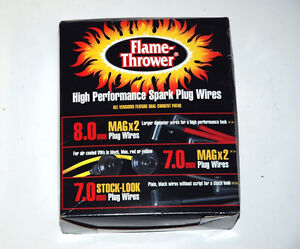 """PerTronix 708190 """"Flame Thrower"""" Spark Plug Wires - New!!!"""