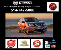 Nissan XTrail – Fenders and Bumpers • Ailes et Pare-chocs