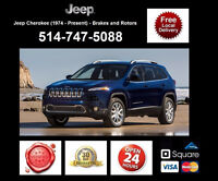 Jeep Cherokee - Brakes and Rotors • Freins et Disques