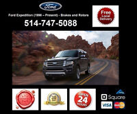 Ford Expedition - Brakes and Rotors • Freins et Disques