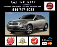 Infiniti EX35 – Control Arms and Ball Joints • Bras Suspension