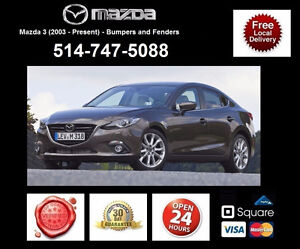Mazda 3 ► Ailes et Pare-chocs • Fenders and Bumpers