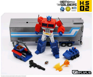3rd Party Transformers Optimus Prime Hot Soldiers Mech Planet