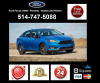 Ford Focus - Brakes and Rotors • Freins et Disques