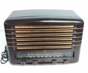 Antique Vintage Old tube radio Philips Model 921 bakelite