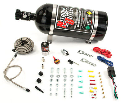 (Nitrous Outlet Universal Diesel Single Nozzle Dry System (15lb Bottle))
