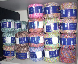 50 balls Laines du Nord Eros ribbon yarn - Made in Italy Kingston Kingston Area image 1